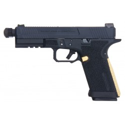 PISTOLA BL0201 BLU COMPACT METAL VERSION GBB SALIENT ARMS BLACK