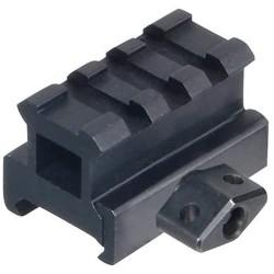 Medium Profile 3-Slot Twist Lock Riser Mount Leapers