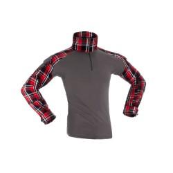 Flannel Combat Shirt Invader Gear RED TG L