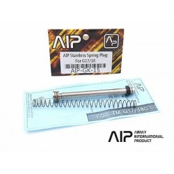 AIP Stainless Spring Plug Set For Tokyo Marui G17/18 [AIP-GK-15]