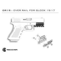 RECOVER TACTICAL SLITTA PICATINNY  GLOCK 17/22