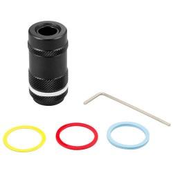 Tokyo Marui Muzzle Velocity Reducer Adapter 14mm Negative  CCW