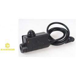 M51 Tactical PTT Kenwood Earmor