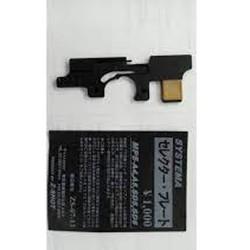 SELECTOR PLATE PER MP5 SYSTEMA (ZS-07-13)