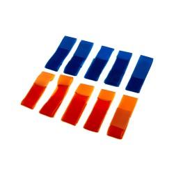 Team Patch Set Blue / Orange Invader Gear