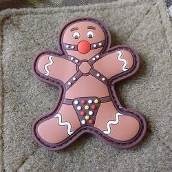 Gingerbread Rubber Patch JTG Uomo focaccina