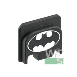 GunsModify  CNC Rear Plate for Marui G-Series Airsoft Slide cover Bat Man