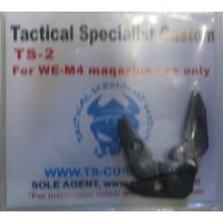 TSC Bolt Catch Plates per WE M4A1 GBB