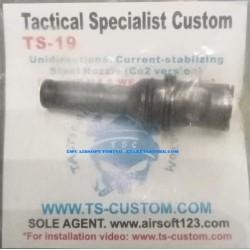 TSC Uni Directional Current Stabilizing Steel Nozzle for CO2 per M4 e SCAR  valvola unidirezionale