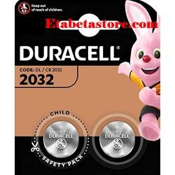CR2032 2pcs Duracell Pile Batterie
