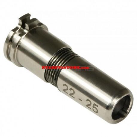 Maxx Model CNC Titanium Adjustable Air Seal Nozzle 22mm - 25mm for AEG