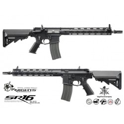 VFC fucile a gas Knight Armament SR16 E3 Carbine MOD2 scarrellante (nero)