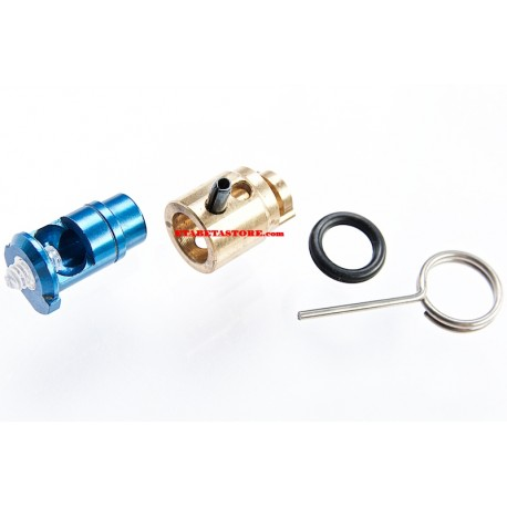 G&P MWS CNC Adjustable Power Nozzle Valve (4.0) for Tokyo Marui M4A1 MWS GBBR