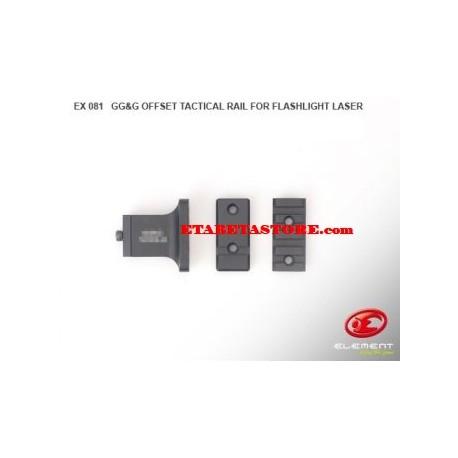 Element Offset Flashlight Laser RIS Rail Mount