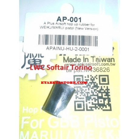 A Plus Airsoft hop up rubber for WE/KJ/Tokyo Marui pistol New Version