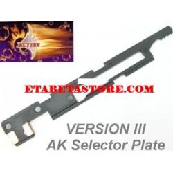 Action AK Selector Plate per Version III