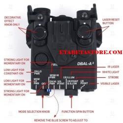 DBAL-A2 Illuminator / Laser Module Red + IR Element